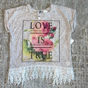 Beautees Love and Flowers Tee